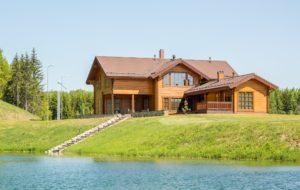 Holzhaus am See - Finnlog